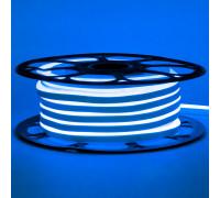 Led неон 12В синий 6х12 AVT smd2835 120LED/m 6W IP65 силикон, 1м