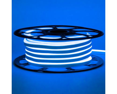 Led неон 12В синий 6х12 AVT smd2835 120LED/m 6W IP65 силикон