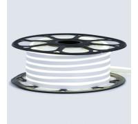 Led неон 12В нейтральный белый 8х16 пвх smd2835 120LED/m 6W IP65 , 1м