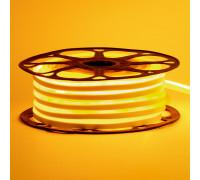 Led неон 12В желтый 8х16 пвх smd2835 120LED/m 6W IP65 , 1м