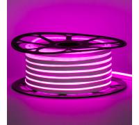 Led неон 12В розовый 8х16 пвх smd2835 120LED/m 6W IP65 , 1м