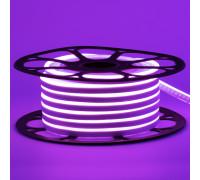 Led неон 12В фиолетовый 8х16 пвх smd2835 120LED/m 6W IP65 , 1м