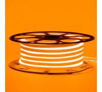 Led неон 12В оранжевый 8х16 пвх smd2835 120LED/m 6W IP65 , 1м