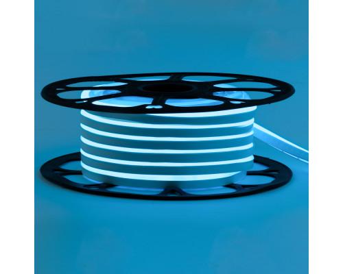 Led неон 220В голубой AVT-1 smd2835 120LED/m 7W IP65 , 1м