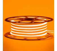 Led неон 220В оранжевый AVT-1 smd2835 120LED/m 7W IP65 , 1м