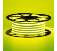 Led неон 220В лимонный желтый AVT-1 smd2835 120LED/m 7W IP65 , 1м