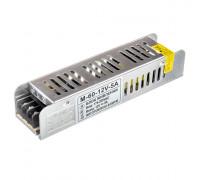 Led блок 12В M/5A 60 Bт IP 20