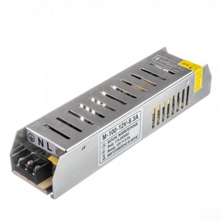 Купить Led блок 12В M/8.3A 100 Bт IP 20