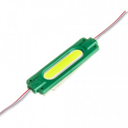 Купить Модуль СОВ 12V зеленый 1led 2Вт овальный IP65