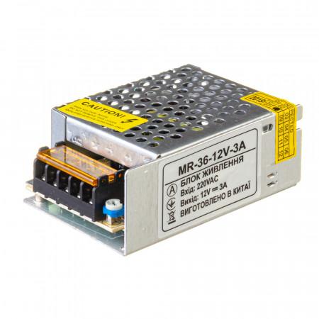 Купить Led блок 12В MR/3A 36 Bт IP 20