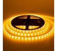 Светодиодная лента 12в желтая AVT smd3528 60led/м негерметичная, 1м