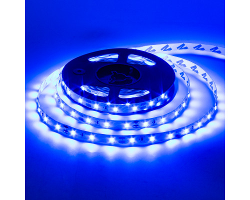 Светодиодная лента 12в синяя AVT smd3528 60led/м негерметичная, 1м