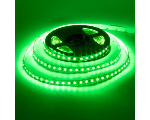 Светодиодная лента 12в зеленая AVT smd3528 120led/м негерметичная, 1м