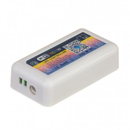 Купить WI-FI RGBW контроллер 144W, 12А