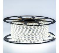 Led лента 220В белая smd2835 48LED/m 6W IP65 , 1м