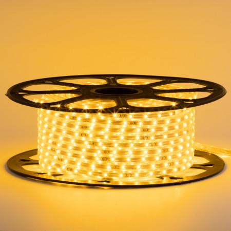 Купить Лед лента 220 В желтая smd 2835 48led/м 6Вт/м IP65, 1м