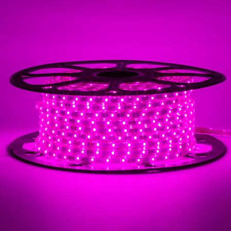 Купить Лед лента 220 В фиолетовая smd 2835 48led/м 6Вт/м IP65, 1м