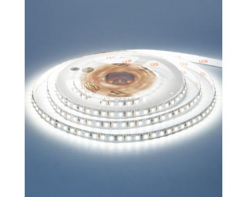 Светодиодная лента 12в белая холодная AVT New smd3528 120led/м негерметичная