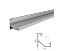 Комплект алюминиевого профиля ПФ-20 угловой рассеиватель 2 м