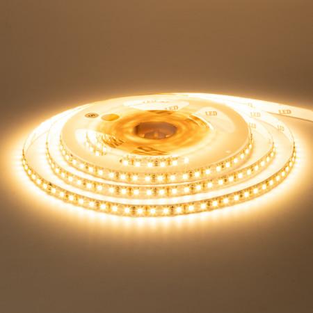 Купить Светодиодная лента 12в белая теплая New smd3528 120led/м негерметичная, 1м