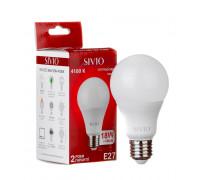 Led лампа Sivio 18Вт A65 нейтральная белая E27 4100K