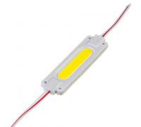 Модуль светодиодный белый 24в COB 1LED 2Вт герметичный