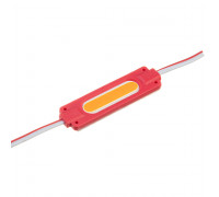 Модуль светодиодный красный 24в COB 1LED 2Вт герметичный