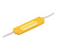 Модуль светодиодный желтый 24в COB 1LED 2Вт герметичный
