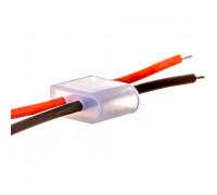 Монтажный комплект для LED неона 12 V 6 mm (2 заглушки + 2 провода)