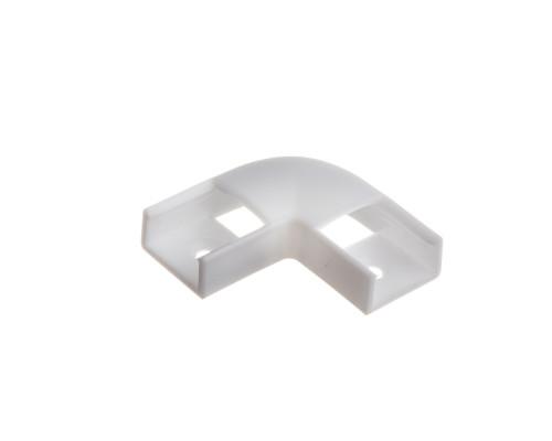 Коннектор угловой для профиля ПФ 15 90° пластиковый