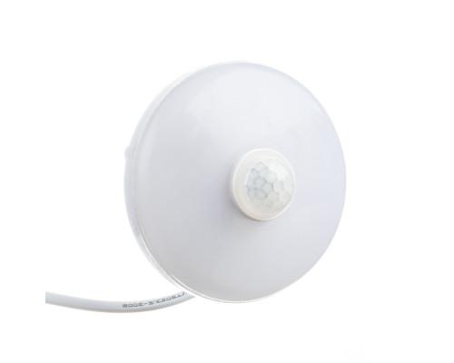 Led светильник накладной с датчиком Sensor 9Вт 6000К круг IP44