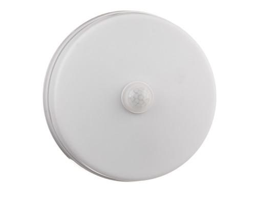 Led светильник накладной с датчиком Sensor 18Вт 6000К круг IP44