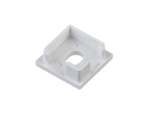 Торцевая заглушка для квадратного профиля ПФ-9 с отверстием
