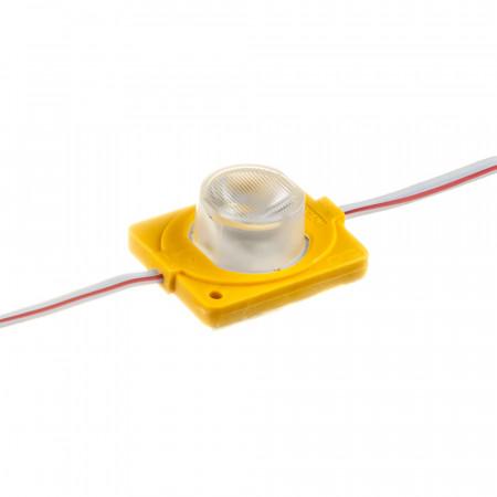Купить Модуль инжекторный светодиодный желтый 12в smd3030 1LED 1.5Вт герметичный
