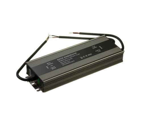 Led блок питания NEW AVT-24V влагозащита IP 65 12,5А - 300W