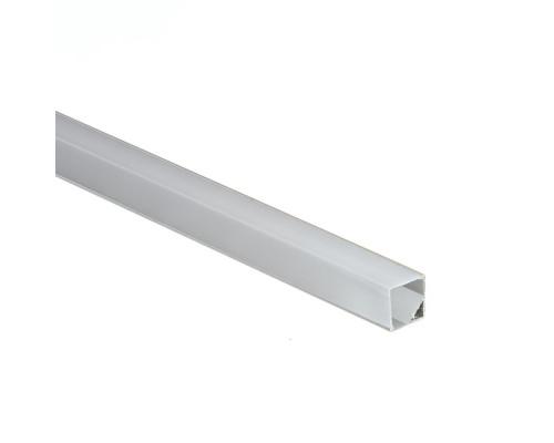 Рассеиватель квадратный для профиля ПФ-9 матовый, 2м