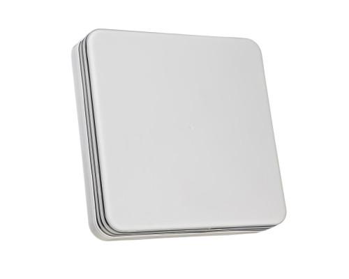 Светодиодный светильник 18 Вт накладной квадратный 5000К IP65 Silver