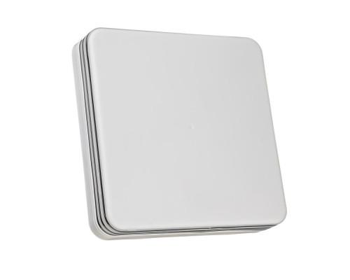 Светодиодный светильник 24 Вт накладной квадратный 5000К IP65 Silver