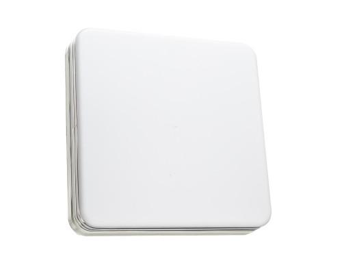 Светодиодный светильник 36 Вт накладной квадратный 5000К IP65 Silver