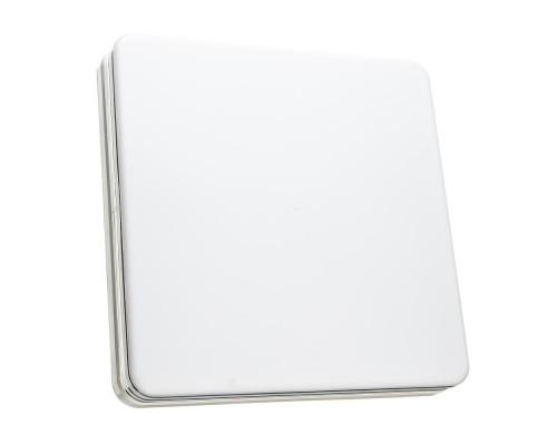 Светодиодный светильник 48 Вт накладной квадратный 5000К IP65 Silver