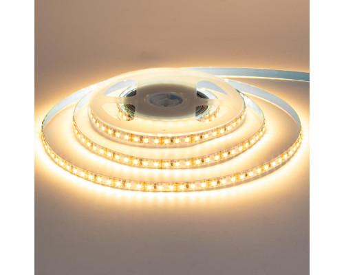 Светодиодная лента теплая белая 12V AVT smd2835 168LED/м IP20
