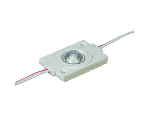 Модуль 12V белый холодный 1led smd3030 0.6Вт IP65
